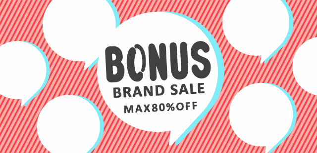 【AXES限定】人気ブランド「MAX80%OFF」ボーナスセール