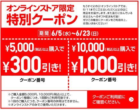【オンラインストア限定】ユニクロ(UNIQLO)「300円OFF/1000円OFF」割引特別クーポン