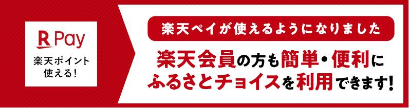 【楽天ペイ限定】ふるさとチョイス「楽天ポイント還元」キャンペーン