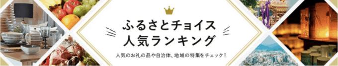 【在庫限定】ふるさとチョイス「総合人気」ランキング
