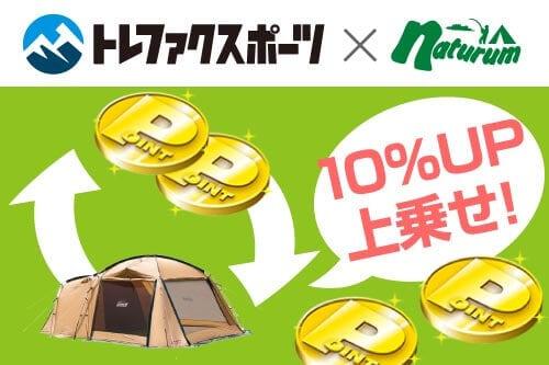 【会員限定】ナチュラム「10%UP上乗せ」不用品買い取りキャンペーン