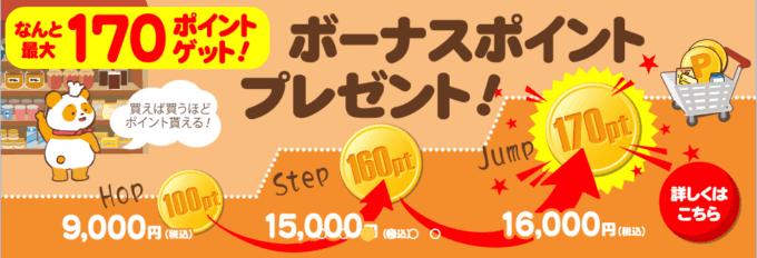 【期間限定】TOMIZ(富澤商店)「最大170円OFF」ボーナスポイントキャンペーン