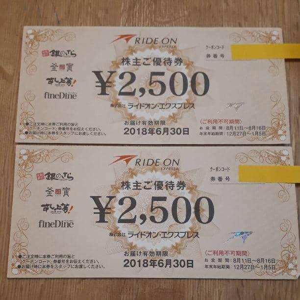【オークション・フリマ】ファインダイン「2500円OFF」株主優待