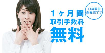 【新規口座開設限定】DMM株(DMM.com証券)「取引手数料1ヶ月間無料」キャンペーン