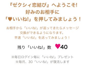 【毎月1回限定】ゼクシィ恋結び「30いいね」無料プレゼント