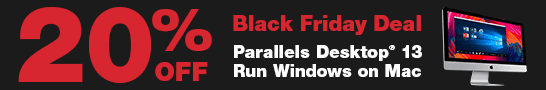 【期間限定】Parallels(パラレルス)「20%OFF」ブラックフライデーキャンペーン