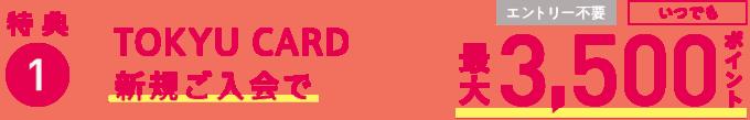 東急カード キャンペーン