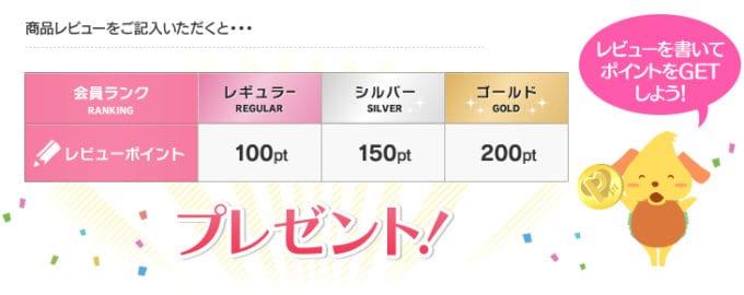 【レビュー限定】アイリスプラザ「100円OFF・150円OFF・200円OFF」割引ポイント