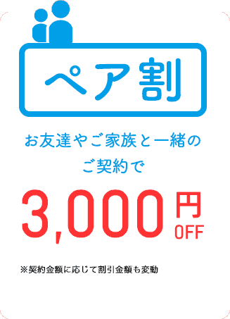 【ペア割限定】アリシアクリニック「最大3000円OFF」割引キャンペーン