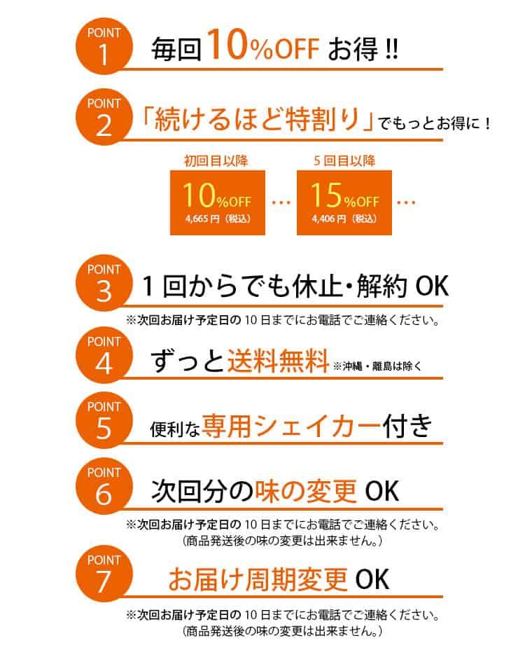 【定期コース限定】バランサー(BALANCER)「10%OFF・送料無料・シェイカー無料」キャンペーン