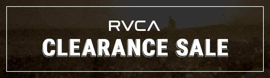 【在庫限定】RVCA(ルーカ)「クリアランス・アウトレット」セール